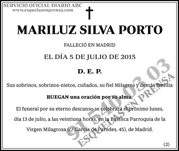 Mariluz Silva Porto